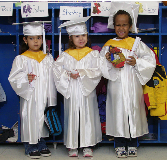 Kindergarten Caps & Gowns